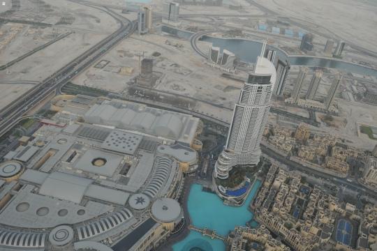 Dubai - view from Burj Khalifa