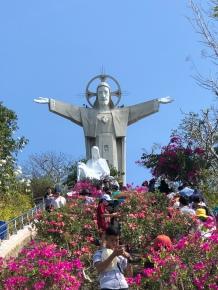 The Jesus Christ statue Vung Tau
