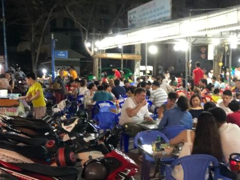Night market at the Back Beach
