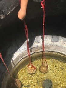 Boiling the eggs in Binh Chau