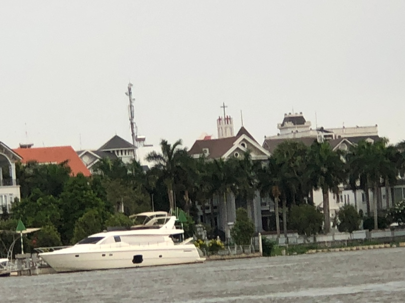 Saigon from the river