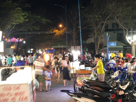 Night market at the Back Beach