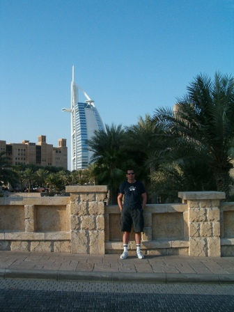 In front of Madinat Jumeirah