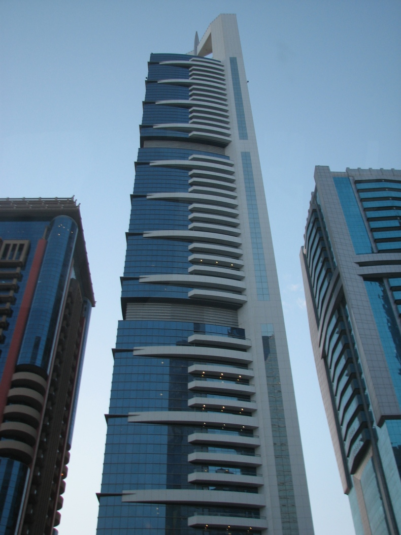 Skyscrapers in Sheikh Zayed Roads