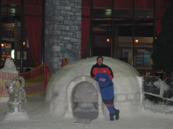 Winter fun facilities at the Mall of Emirates
