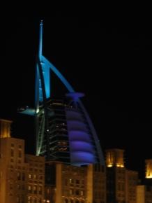 Burj Al Arab from Madinat Jumeirah